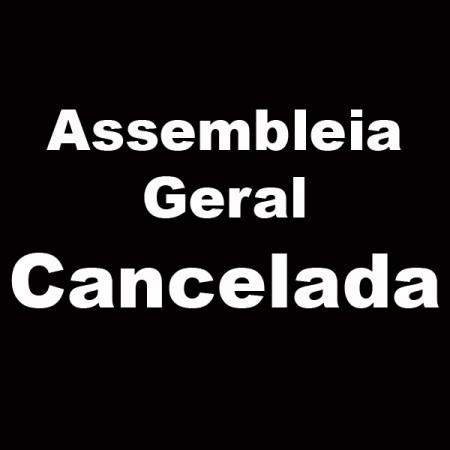 assembleia geral cancelada