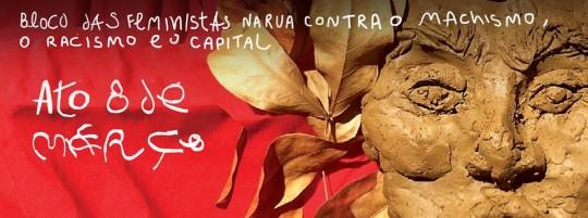 Bloco das feministas - 8 de março