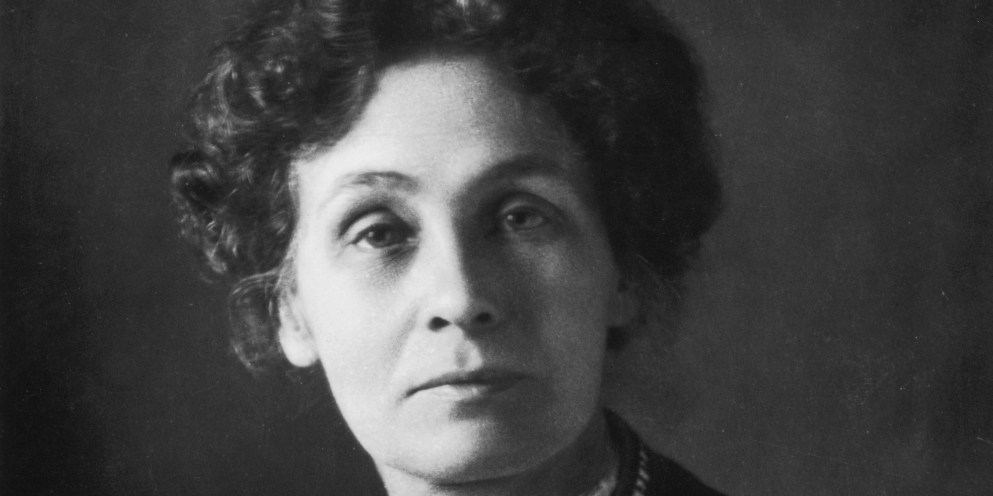 British feminist and leader of the suffrage movement, Emmeline Pankhurst (1858 - 1928).   (Photo by Edward Gooch/Getty Images)