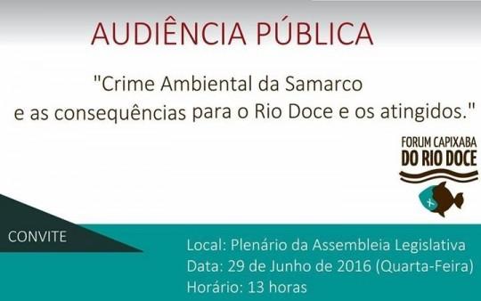 Audiência Pública Rio Doce