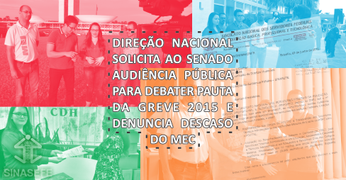Descaso do MEC e audiência pública no Senado