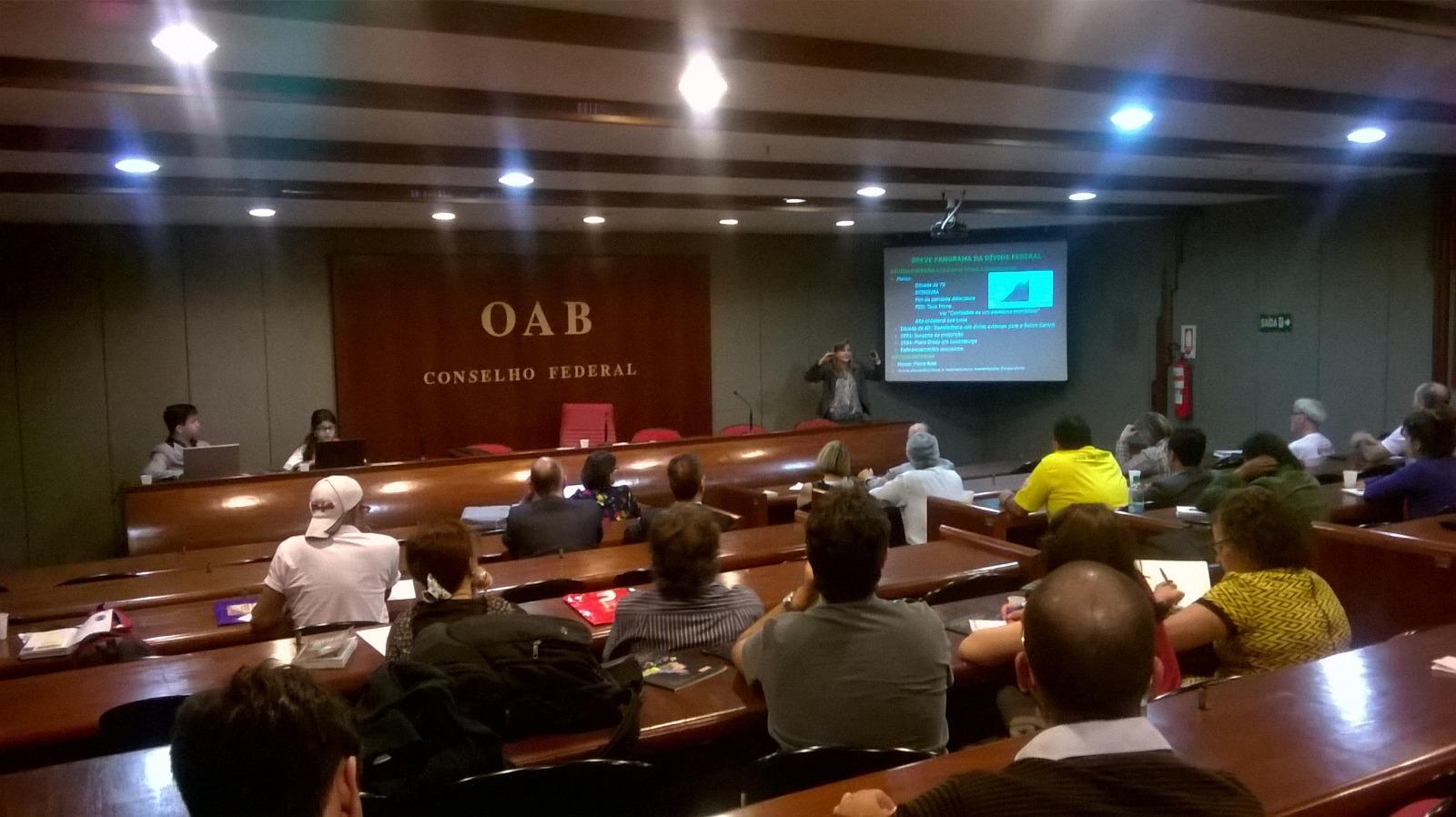 Reunião Dívida Pública em Brasília II 26-07-16