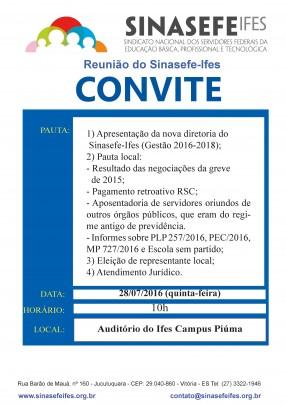 Reunião em Piúma 28-07-16