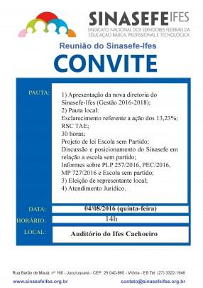 Convite Cachoeiro