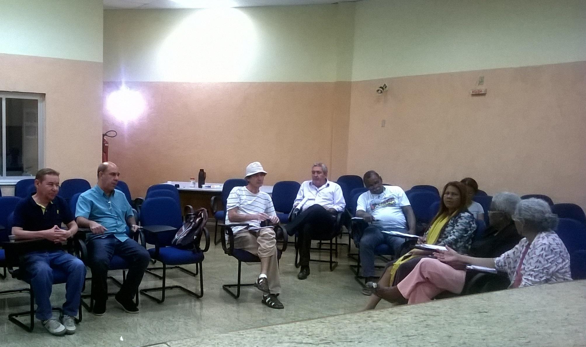 Reunião da Frente Esatdual em Defesa da Previdência 2-08-16