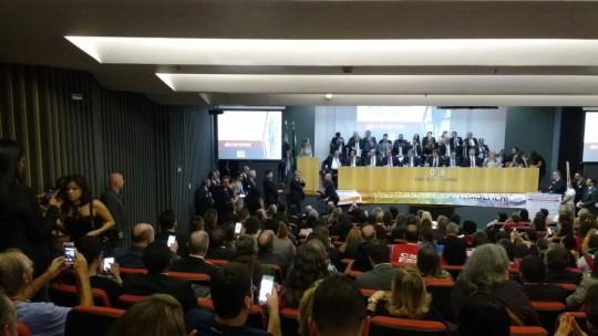 Lançamento da Consulta Pública na OAB nacional.