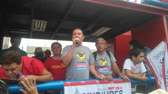 Manifestação dia 15 de março - previdência e trabalhista 2
