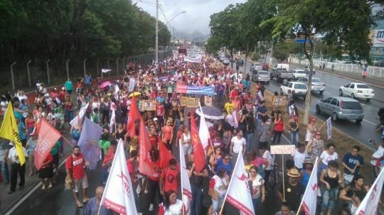Manifestação dia 15 de março - previdência e trabalhista