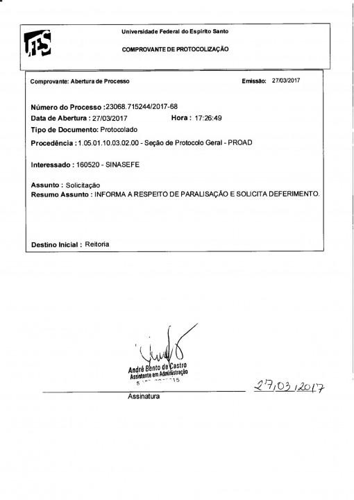 Ofícios Paralisação 31-03-17