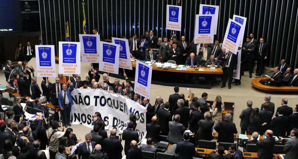Reforma Trabalhista - Luis Macedo - Câmara dos Deputados