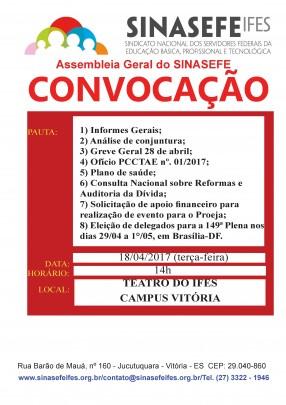 Retificação de Convocação para assembleia geral 18.04 - Teatro Campus Vitória em Jpeg