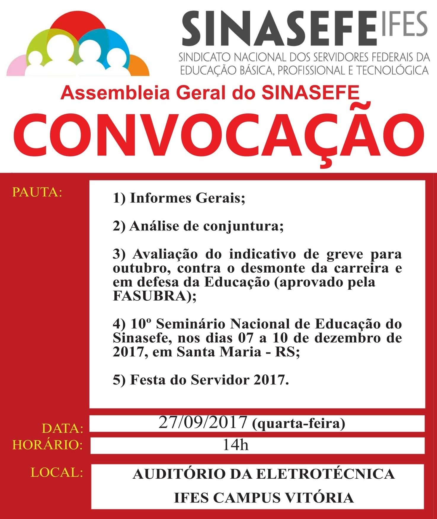 Convocação para assembleia geral - 27.09_destaque