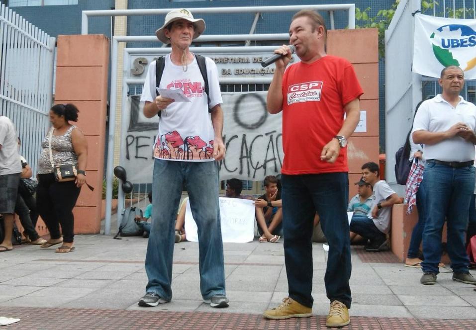 Sinasefe Seção Ifes participa da luta contra o fechamento de escolas no interior do Estado (2)