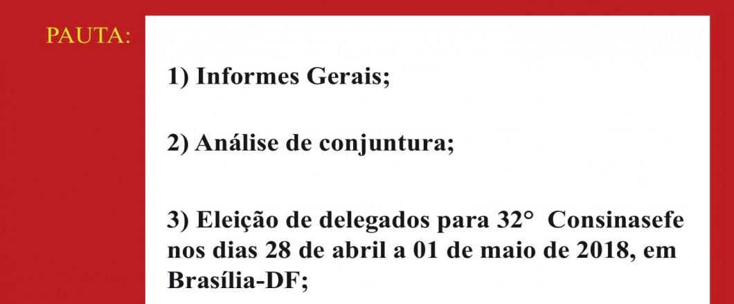 Convocação para assembleia local 05.03 retif