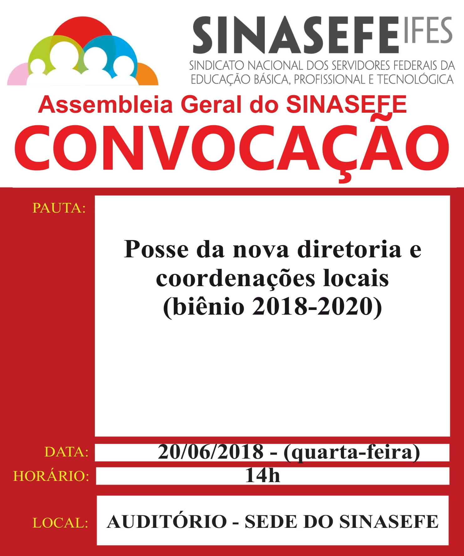 Convocação para assembleia geral - 20.06-1